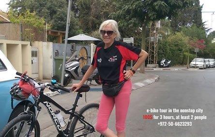 סיורי אופניים בתל-אביב – נילי טל 050-6623293